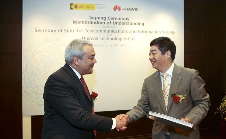 Acuerdo entre Huawei y SETSI