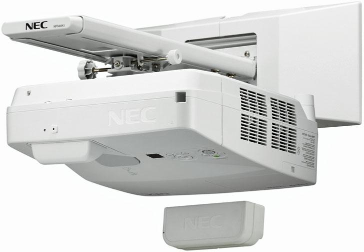 Proyector interactivo NEC