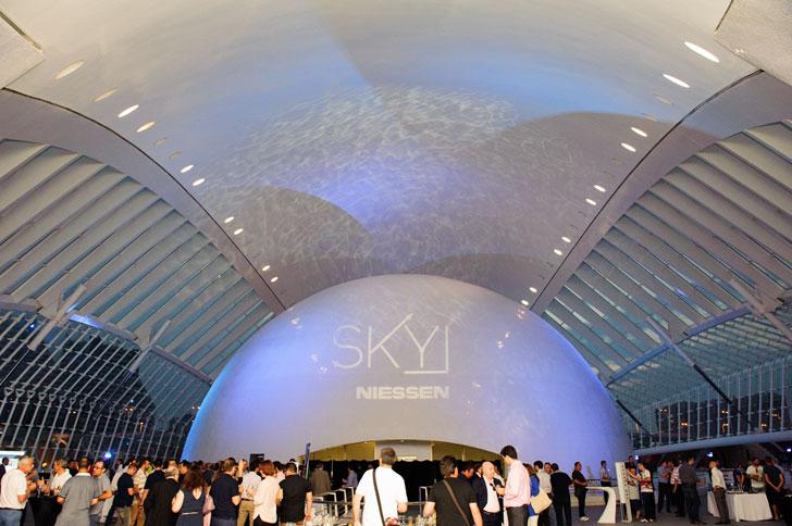 Presentación de Sky en Valencia