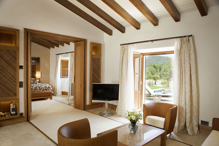 Habitación en Castell Son Claret