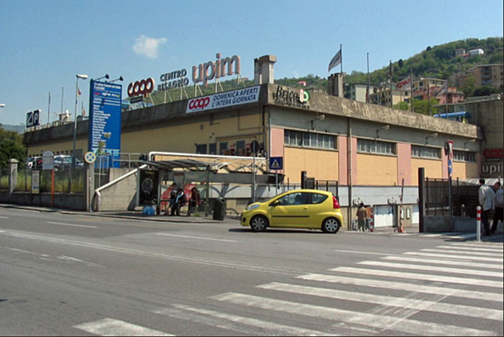 Centro comercial de Génova, en la actualidad