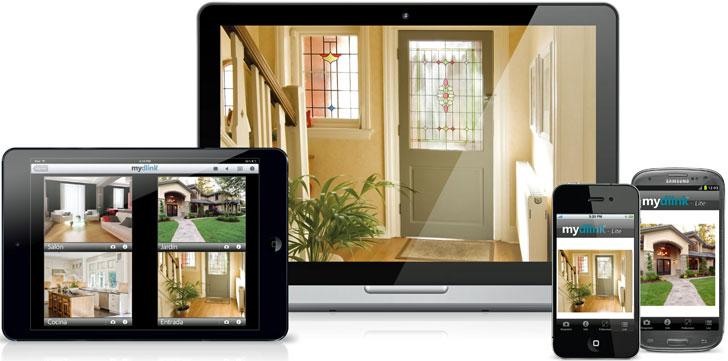 Control del hogar desde dispositivos móviles
