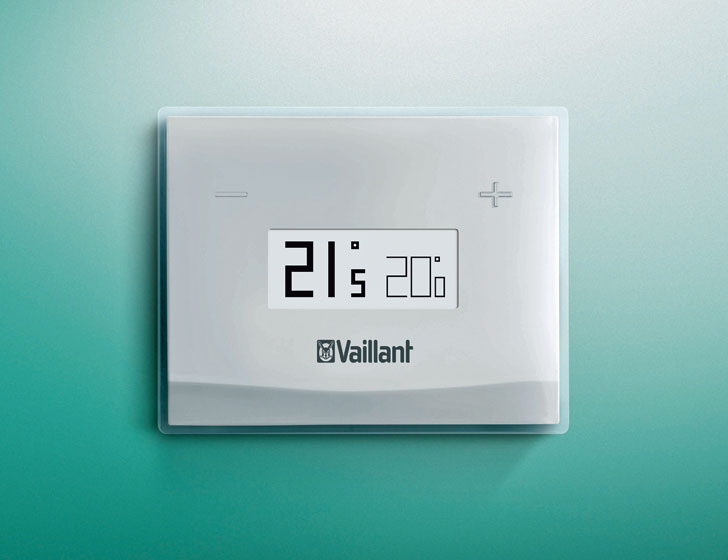 Vaillant lanza un termostato inteligente para controlar for Termostato caldera wifi