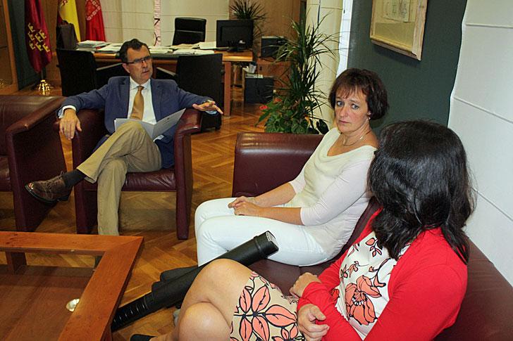 Reunión en el ayuntamiento de Murcia