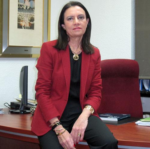 Pilar Budí en su despacho
