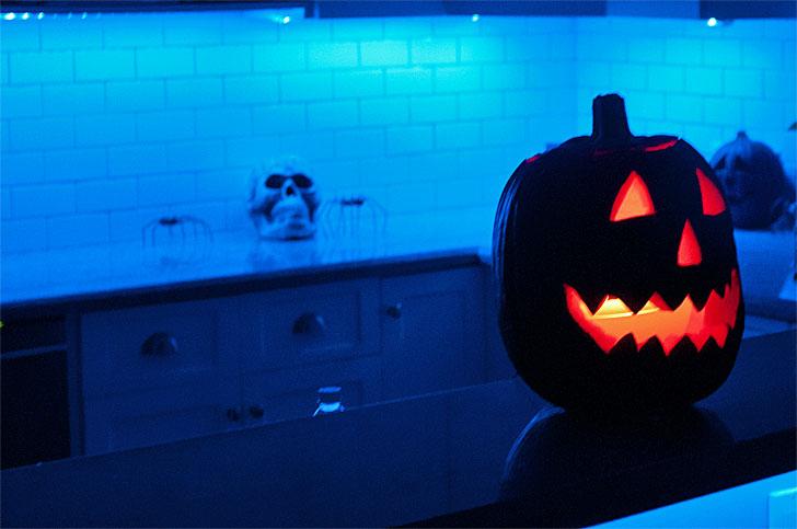 Philips Hue en Halloween