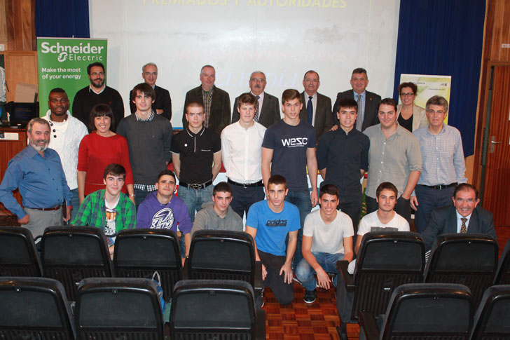 Alumnos Colegio Salesianos de Pamplona
