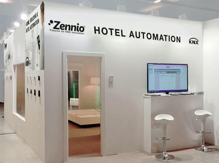 Stand de Zennio en Interihotel