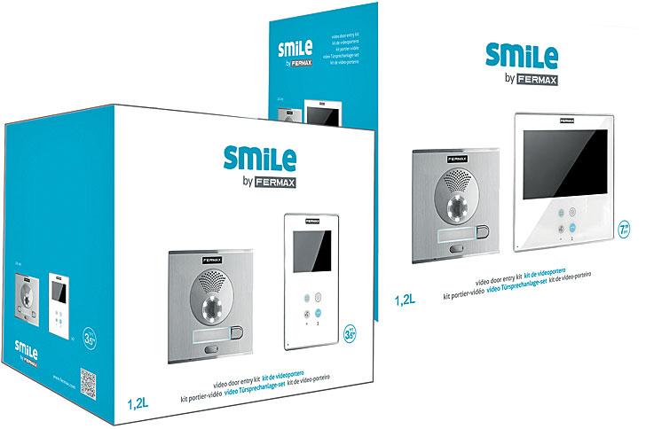 Monitor de videoportero Smile