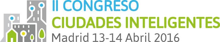 Logo II Congreso Ciudades Inteligentes