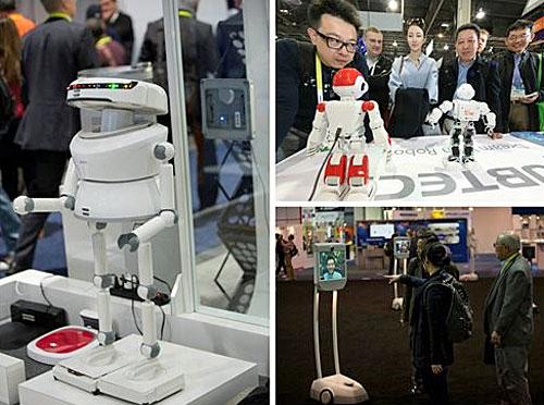 Robots en CES