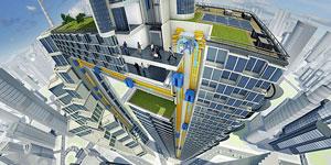 MULTI, el ascensor sin cables de Thyssenkrupp