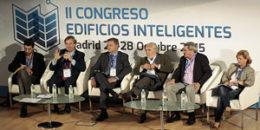 Mesa redonda 2 II Congreso Edificios Inteligentes