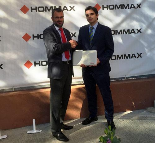 Acuerdo entre Hommax y Radwin