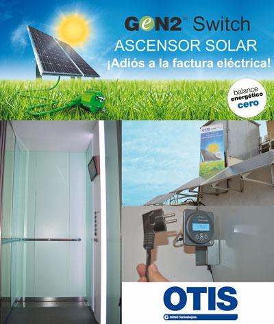 Otis GeN2 Switch Solar