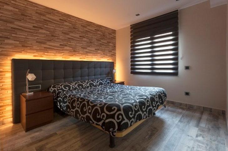 Una vivienda unifamiliar ecl ctica con el sistema smart - Iluminacion habitacion matrimonio ...