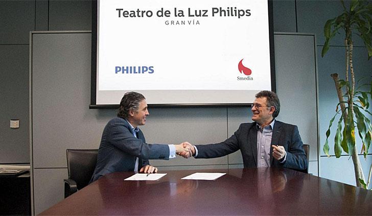 Acuerdo entre Philips y Smedia
