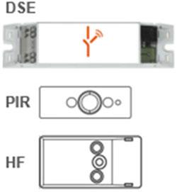 Componentes inalámbricos necesarios en la instalación.