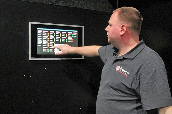 Control sistema KNX desde una pantalla