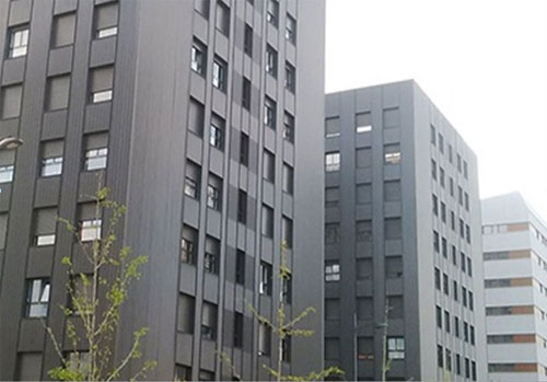 Edificios con sistema centralizado Stechome.