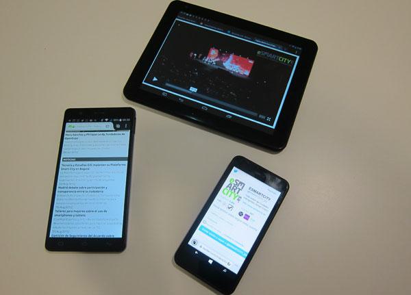 Uso de la banda ancha con dispositivos móviles