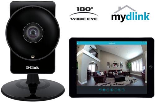Cámara de videovigilancia y router