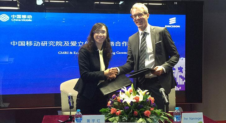 China Mobile y Ericsson