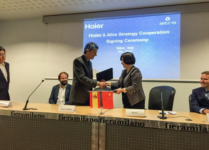 Acuerdo entre Haier y Airzone