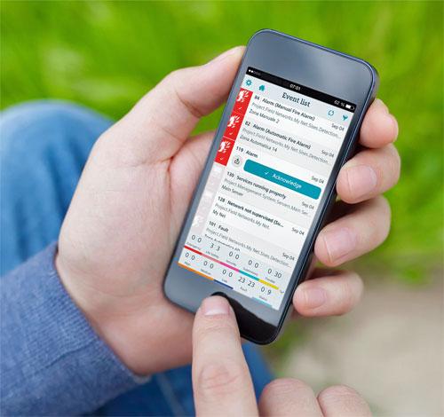Control desde el Smartphone o Tablet