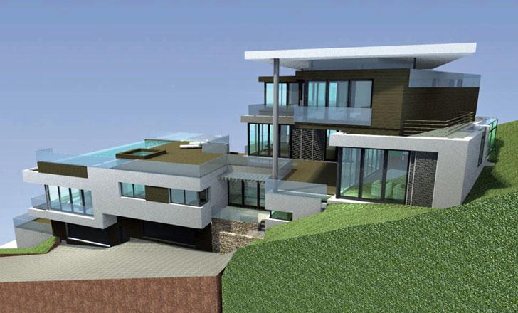 Maqueta de la vivienda