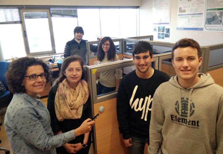 Profesoras y estudiantes de la UCLM