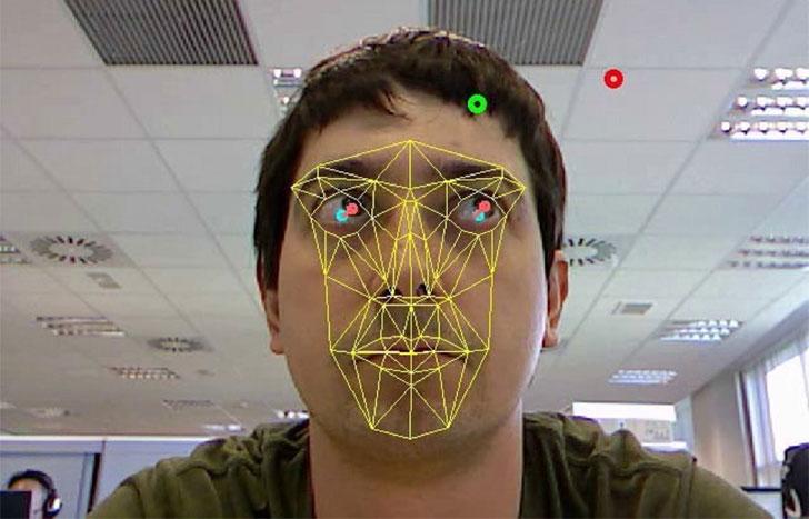 Sistema de lectura ocular y facial
