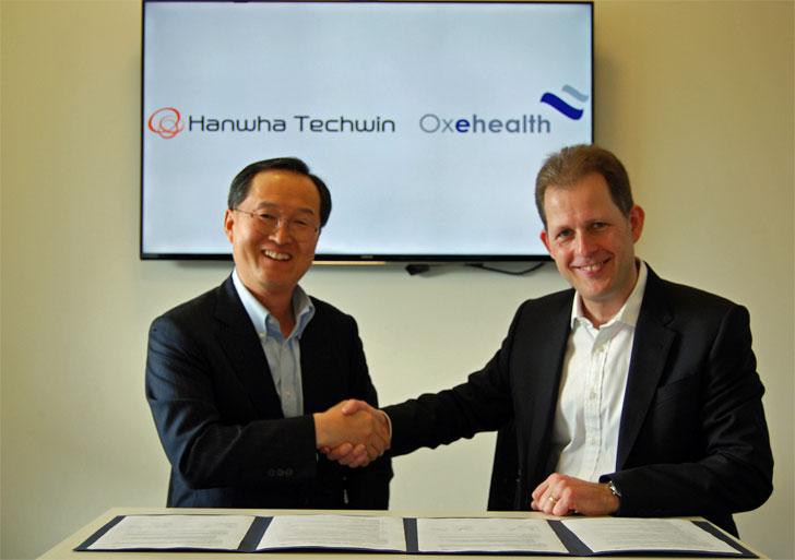 Acuerdo entre Hanwha Techwin y Oxehealth