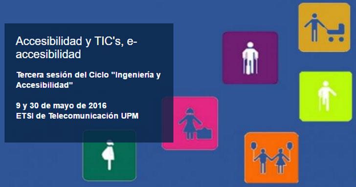 Ciclo de Sesiones sobre e-Accesibilidad