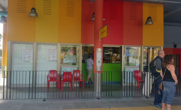 Estación de Autobuses Titsa