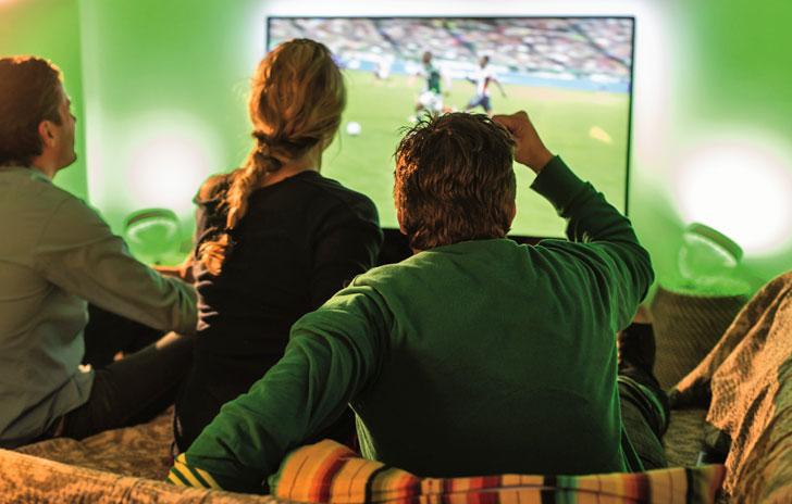 Philips Hue con tecnología Ambilight en los televisores Philips