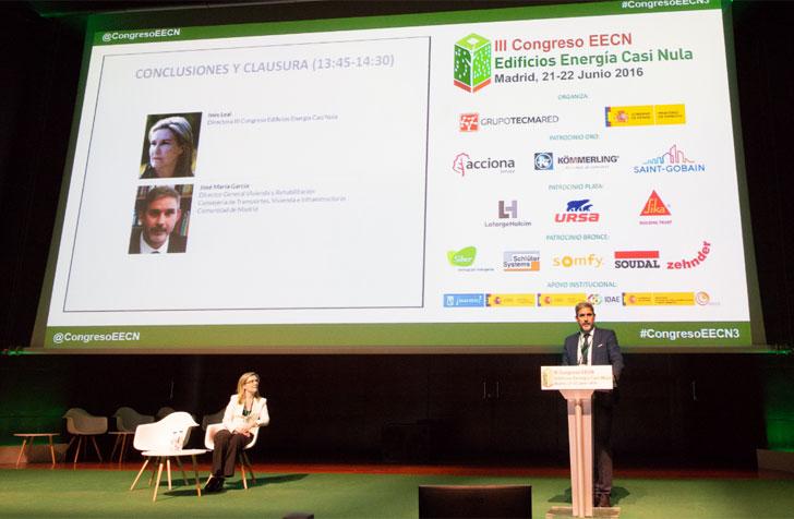 Clausura del III Congreso Edificios Energía Casi Nula