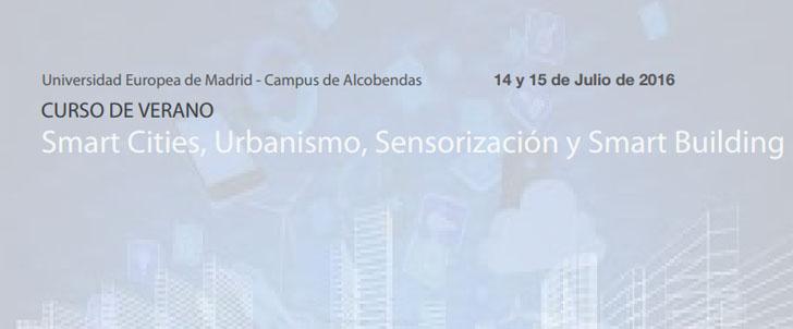 Curso sobre 'Smart Cities, urbanismo, sensorización y smart building'