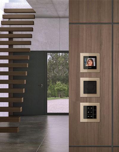 Estación interior Jung compatible con videoportero Siedle