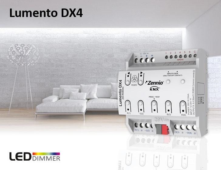 Regulador KNX de iluminación DALI para LED
