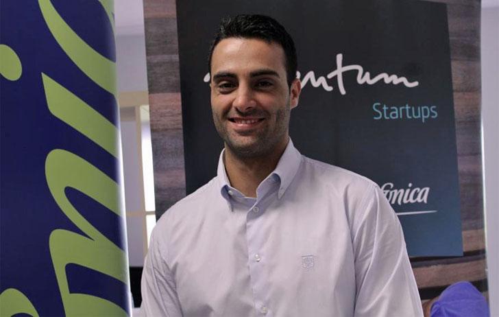Javier Armiñana, estudiante de la UCAM