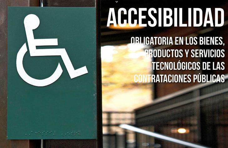 Accesibilidad obligatoria en contrataciones públicas