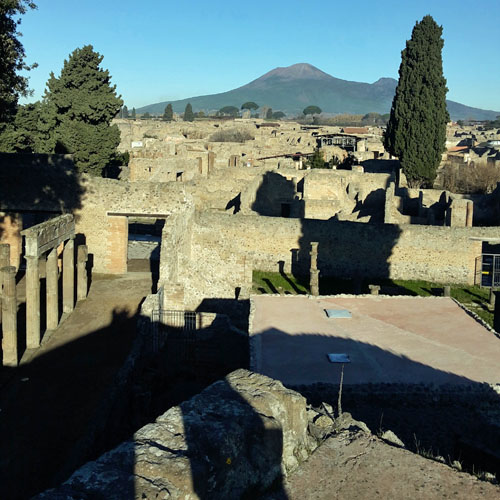 Pompeya vigilada por cámaras de MOBOTIX