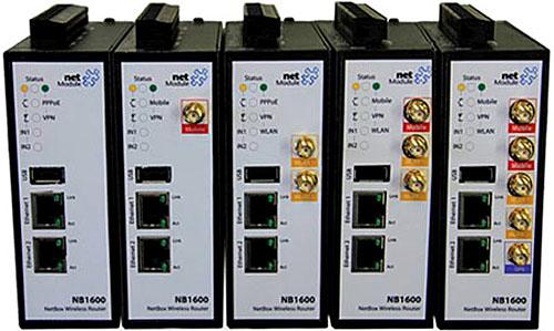 Router modular NetModule NB1600