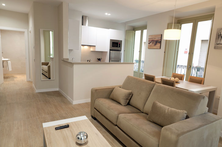 Apartamento con tecnología Smart Home de Loxone en Málaga