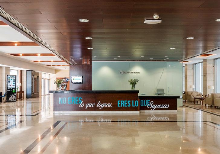 Accesibilidad hotel ILUNION Málaga