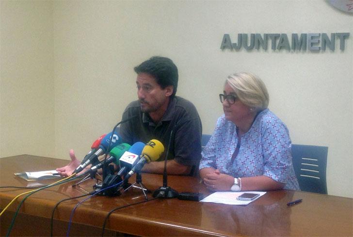 Consol Castillo y Jordi Peris