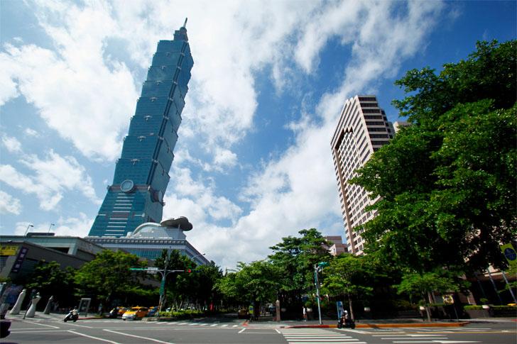 Rascacielo Taipei 101