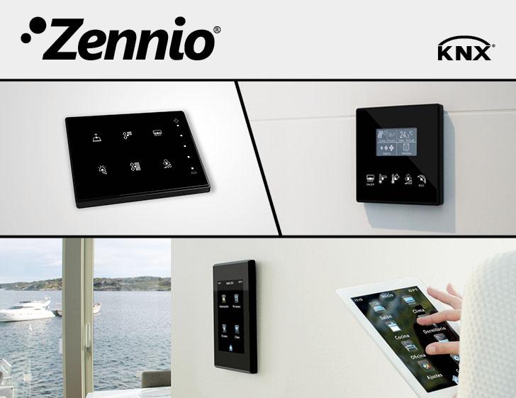 Dispositivos KNX de Zennio