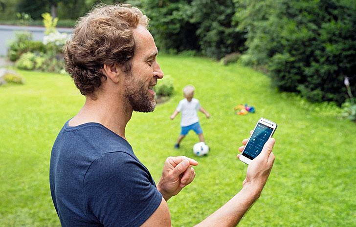 Control remoto desde el Smartphone